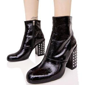 Steve Madden studded heel Galley ankle boot